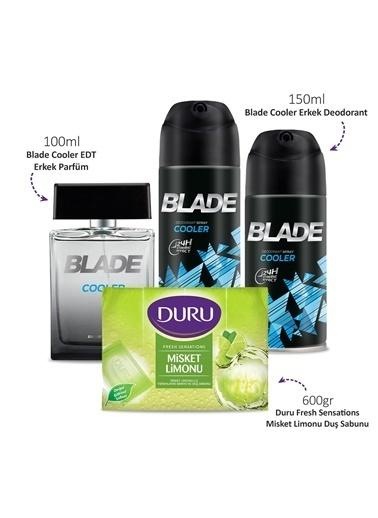 Blade Cooler 100Ml Edt & Deodorant 2X150Ml & Misket Limonu Sabun 600Gr Renksiz